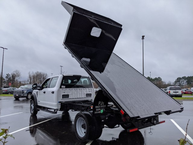 2019 Ford F-550 Crew Cab DRW RWD, PJ's Platform Body #T198487 - photo 36