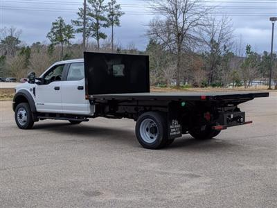 2019 Ford F-550 Crew Cab DRW 4x4, PJ's Platform Body #T198489 - photo 2