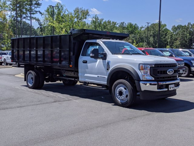 2020 Ford F-550 Regular Cab DRW RWD, PJ's Landscape Dump #T208188 - photo 3