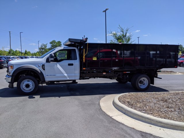 2020 Ford F-550 Regular Cab DRW RWD, PJ's Landscape Dump #T208188 - photo 7