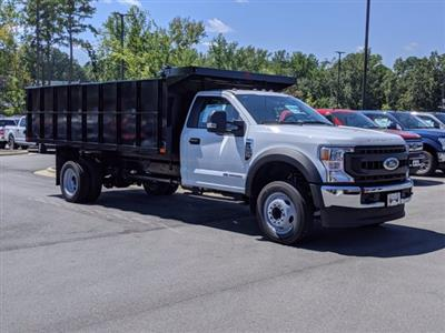 2020 Ford F-550 Regular Cab DRW 4x2, PJ's Landscape Dump #T208188 - photo 3