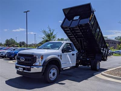 2020 Ford F-550 Regular Cab DRW RWD, PJ's Landscape Dump #T208188 - photo 32