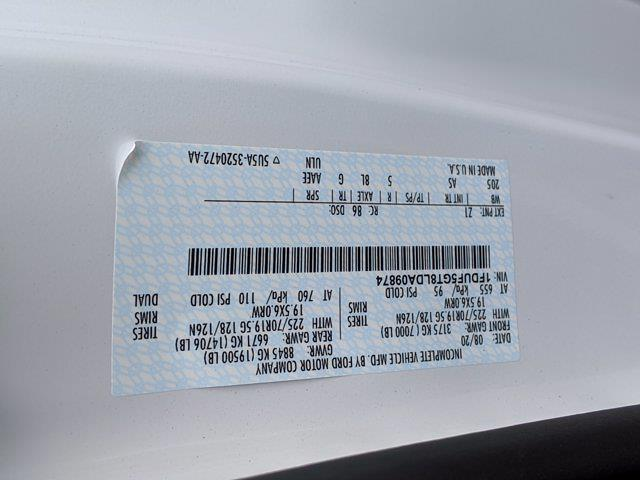 2020 Ford F-550 Regular Cab DRW 4x2, PJ's Platform Body #T208201 - photo 36