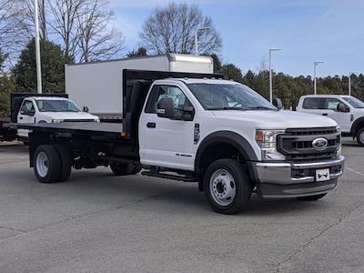 2020 Ford F-550 Regular Cab DRW 4x2, PJ's Platform Body #T208201 - photo 1