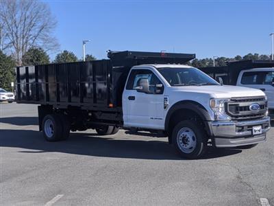 2020 Ford F-550 Regular Cab DRW 4x4, PJ's Landscape Dump #T208213 - photo 4