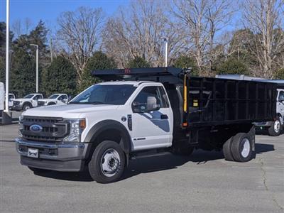 2020 Ford F-550 Regular Cab DRW 4x4, PJ's Landscape Dump #T208213 - photo 1