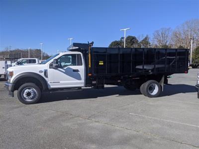 2020 Ford F-550 Regular Cab DRW 4x2, PJ's Landscape Dump #T208214 - photo 7