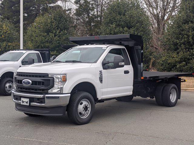 2020 Ford F-350 Regular Cab DRW 4x4, PJ's Platform Body #T208241 - photo 1