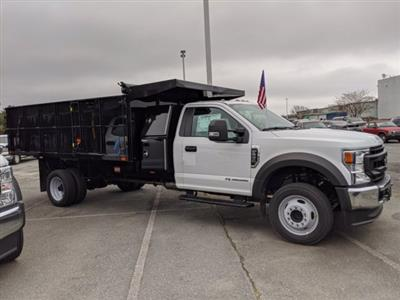 2020 Ford F-550 Regular Cab DRW 4x2, PJ's Landscape Dump #T208270 - photo 4