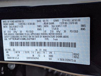 2021 Ford Ranger SuperCrew Cab 4x4, Pickup #T215025 - photo 45