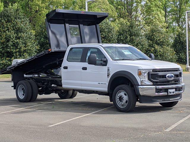 2021 Ford F-550 Crew Cab DRW 4x4, PJ's Platform Body #T218023 - photo 3