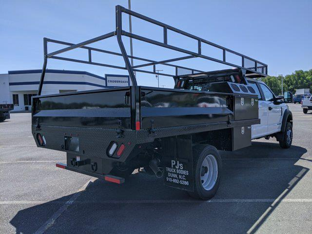 2021 Ford F-550 Crew Cab DRW 4x2, PJ's Western Platform Body #T218024 - photo 2