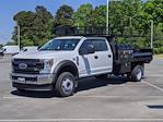 2021 Ford F-550 Crew Cab DRW 4x2, PJ's Western Platform Body #T218024 - photo 6