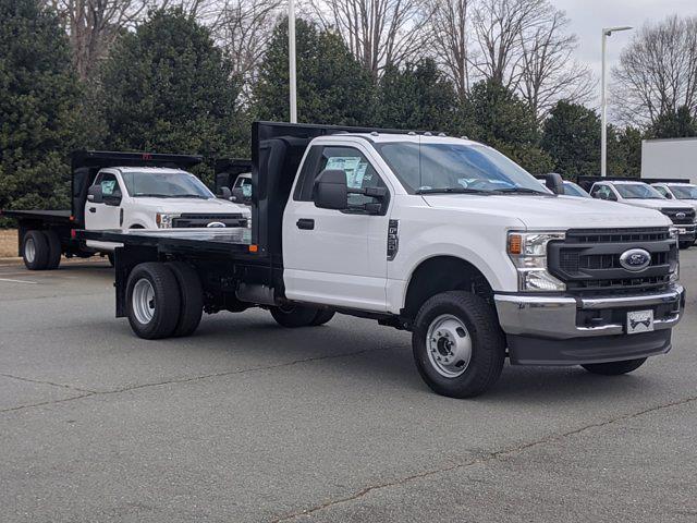 2021 Ford F-350 Regular Cab DRW 4x4, PJ's Platform Body #T218029 - photo 3