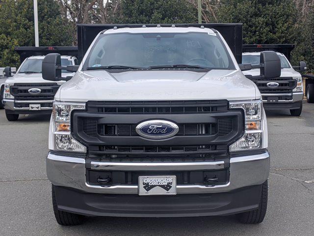 2021 Ford F-350 Regular Cab DRW 4x4, PJ's Platform Body #T218029 - photo 8