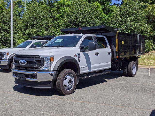 2021 Ford F-550 Crew Cab DRW 4x4, PJ's Platform Body #T218037 - photo 1