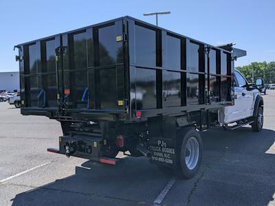 2021 Ford F-550 Crew Cab DRW 4x4, PJ's Platform Body #T218037 - photo 4