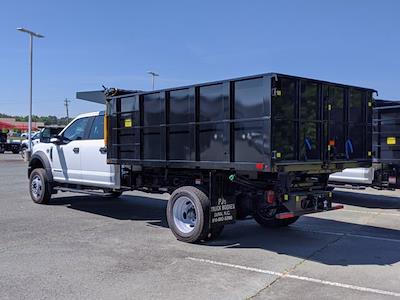 2021 Ford F-550 Crew Cab DRW 4x4, PJ's Platform Body #T218037 - photo 2