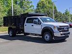 2021 Ford F-550 Crew Cab DRW 4x4, PJ's Platform Body #T218037 - photo 3