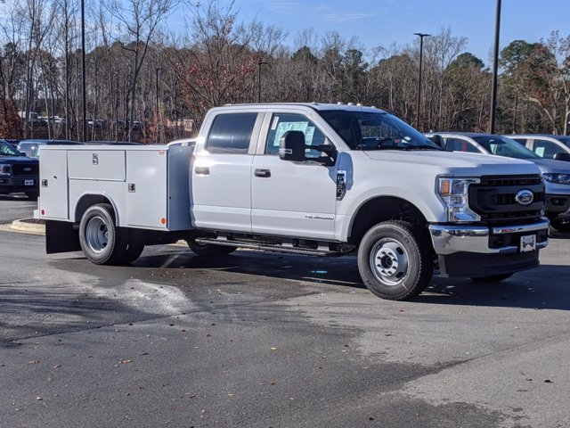 2021 Ford F-350 Crew Cab DRW 4x4, Reading Service Body #T218050 - photo 3
