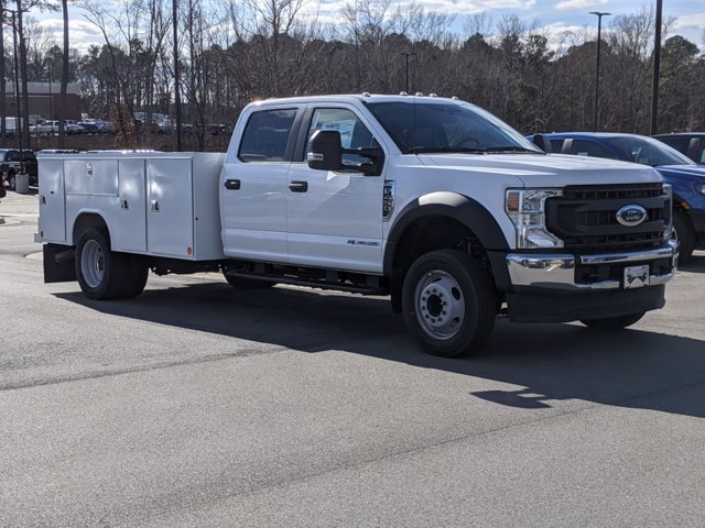2021 Ford F-450 Crew Cab DRW 4x2, Reading Service Body #T218051 - photo 3