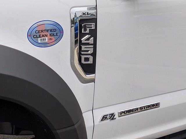 2021 Ford F-450 Crew Cab DRW 4x4, Reading SL Service Body #T218075 - photo 11