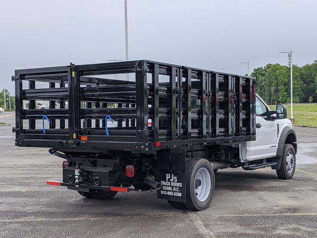 2021 Ford F-550 Regular Cab DRW 4x2, PJ's Stake Bed #T218079 - photo 2