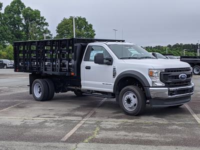 2021 Ford F-550 Regular Cab DRW 4x2, PJ's Stake Bed #T218079 - photo 1
