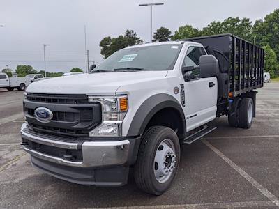 2021 Ford F-550 Regular Cab DRW 4x2, PJ's Stake Bed #T218079 - photo 7