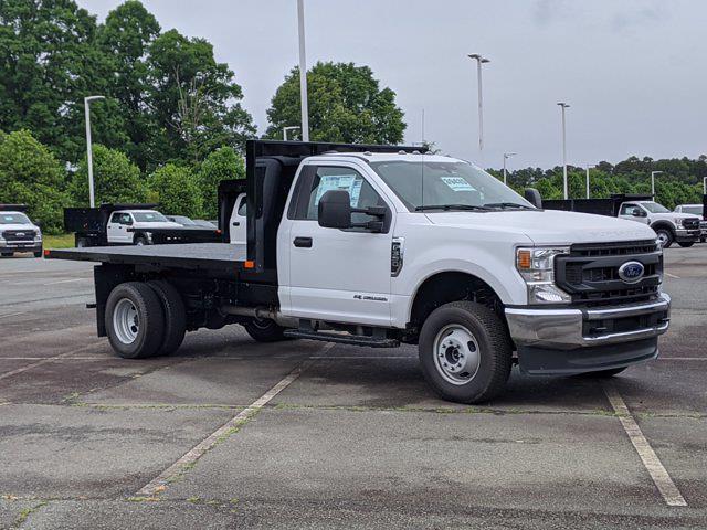 2021 Ford F-350 Regular Cab DRW 4x4, PJ's Platform Body #T218083 - photo 1