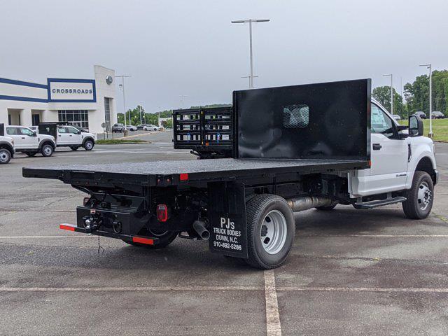 2021 Ford F-350 Regular Cab DRW 4x4, PJ's Platform Body #T218083 - photo 35