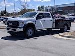 2021 Ford F-550 Crew Cab DRW 4x4, Platform Body #T218122 - photo 7