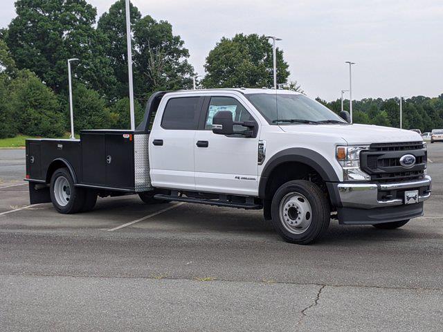 2021 Ford F-550 Crew Cab DRW 4x2, CM Truck Beds Platform Body #T218162 - photo 1