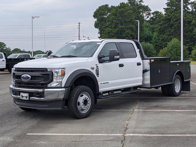 2021 Ford F-550 Crew Cab DRW 4x2, CM Truck Beds Platform Body #T218162 - photo 7