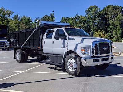 2022 F-750 Crew Cab DRW 4x2,  PJ's Truck Bodies Landscape Dump #T228044 - photo 1
