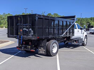 2022 F-750 Crew Cab DRW 4x2,  PJ's Truck Bodies Landscape Dump #T228044 - photo 2