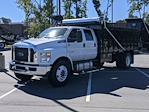 2022 F-750 Crew Cab DRW 4x2,  PJ's Truck Bodies Landscape Dump #T228044 - photo 7