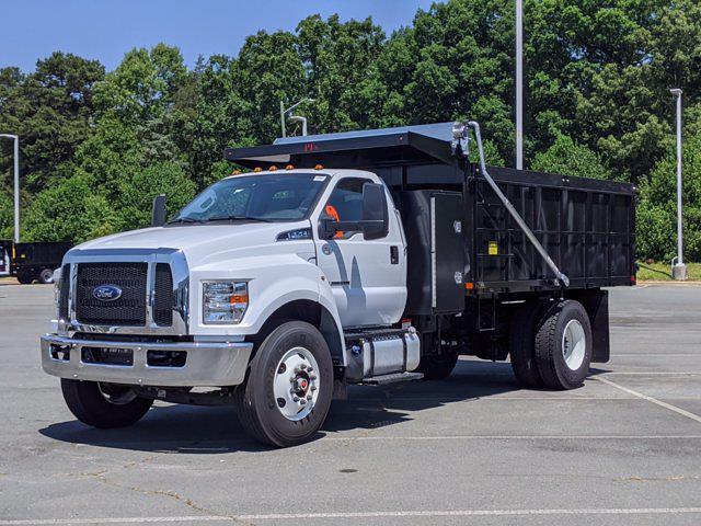 2022 Ford F-750 Regular Cab DRW 4x2, Landscape Dump #T280010 - photo 49