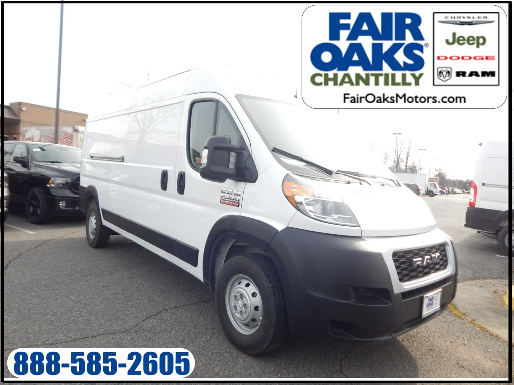 2019 ProMaster 2500 High Roof FWD,  Empty Cargo Van #KE503399 - photo 1