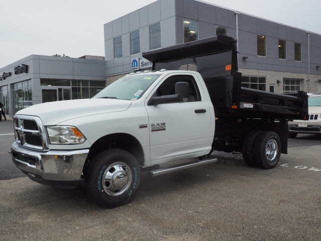 2018 Ram 3500 Regular Cab DRW 4x4,  Rugby Dump Body #S3735 - photo 3