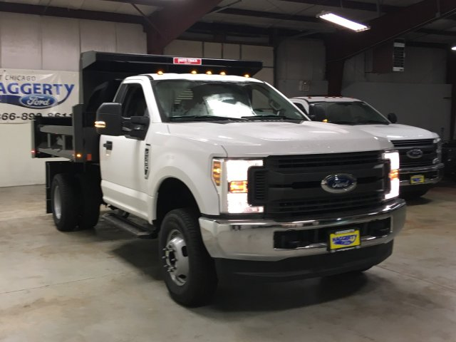 2019 F-350 Regular Cab DRW 4x4,  Rugby Dump Body #80726 - photo 4