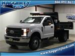 2019 F-350 Regular Cab DRW 4x4,  Rugby Dump Body #80726 - photo 1