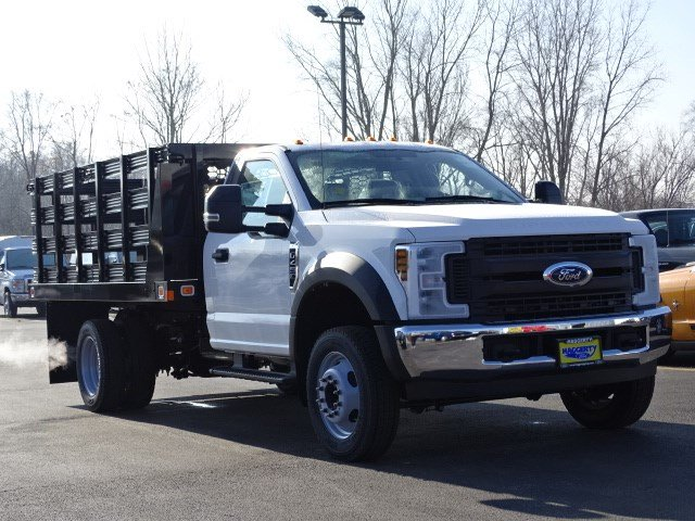 2019 F-450 Regular Cab DRW 4x2,  Knapheide Stake Bed #80734 - photo 4