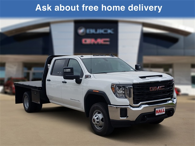 2020 Sierra 3500 Crew Cab 4x2, Knapheide Platform Body #G20497 - photo 1