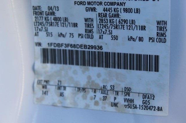 2013 Ford F-350 Regular Cab 4x4, Service Body #P13757 - photo 25