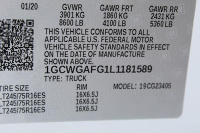 2020 Chevrolet Express 2500 4x2, Empty Cargo Van #P13926 - photo 27