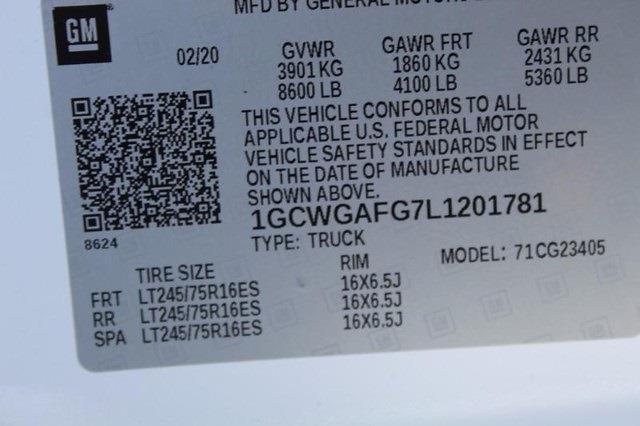 2020 Chevrolet Express 2500 4x2, Empty Cargo Van #P13965 - photo 27