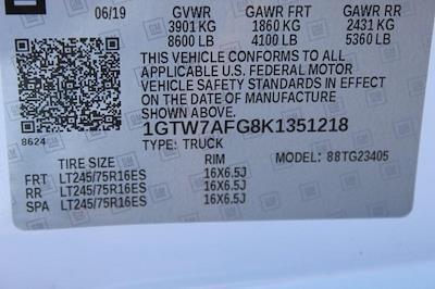2019 GMC Savana 2500 4x2, Empty Cargo Van #P14058 - photo 30