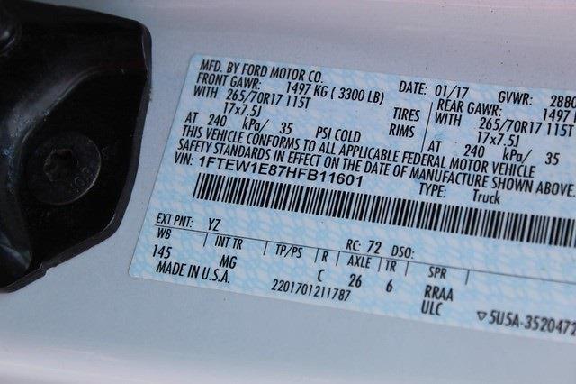 2017 Ford F-150 SuperCrew Cab 4x4, Pickup #P14305 - photo 24