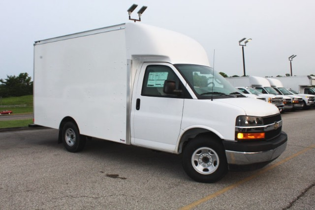 2019 Express 3500 RWD,  Supreme Spartan Cargo Cutaway Van #T10473 - photo 1